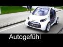 How Mercedes Smart imagines autonomous urban mobility smart vision EQ fortwo