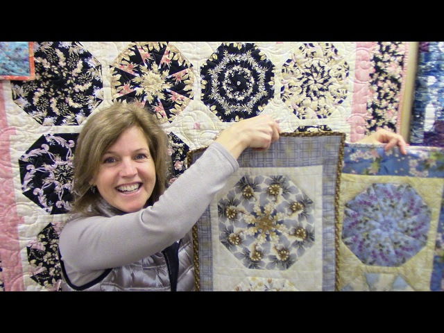 Part 1: Kaleidoscope Quilt and Table Runner Block | Let'sMake Quilting Tutorial