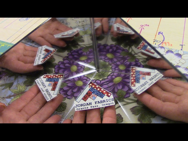 Part 2: Finishing up the Kaleidoscope Quilt and Table Runner Block   Let'sMake Quilting Tutorial