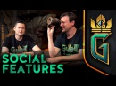 GWENT: The Witcher Card Game   SOCIAL FEATURES
