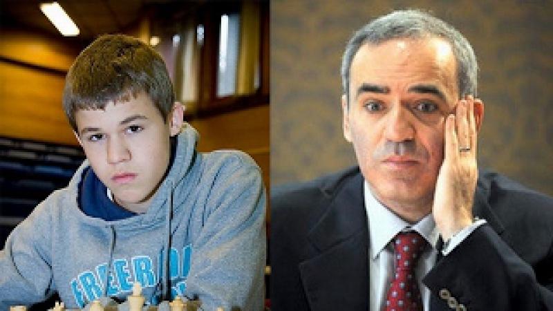 Alexey Pugach - Карлсен против Каспарова: встреча двух шахматных легенд в Рейкьявике!