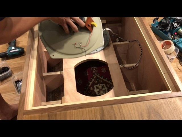Loa rft 3404 thùng kèn khang audio diy