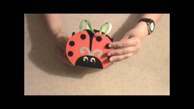 Crafts for kids Handbag Ladybug