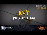 Adding The Key Inventory Pickup - #34 Creating A Survival Horror (Unreal Engine 4)