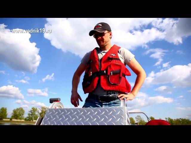Фрегат 480 Yamaha 90 Jet водомет│тюнинг лодок пвх