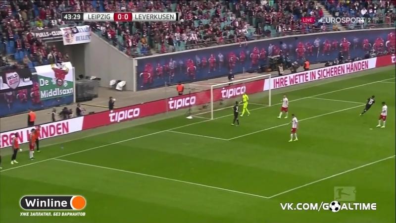 ГолТВ рф РБ Лейпциг Байер 1 0 Обзор матча Германия Бундеслига
