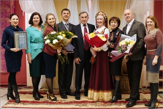 Вручения премии мэра Усть-Илимска «За вклад в развитие культуры»