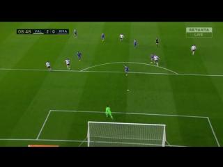 Валенсия 2:0 Реал Мадрид   Гол Орельяны