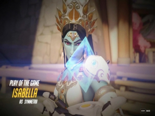 Play of the Game - Isabella as Symmetra (x6)