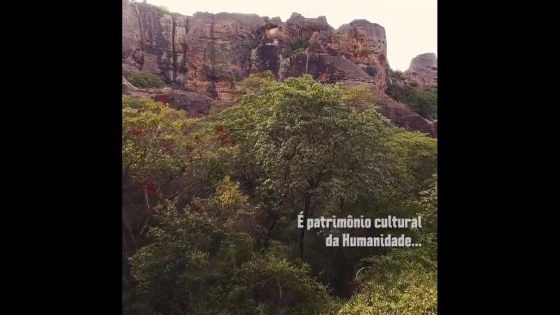 Parque Nacional da Serra da Capivara- Piauí , Brasil
