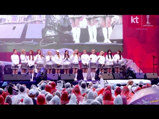 [Fancam] 170523 FIFA U-20 World Cup Korea 2017 Street Cheering Concert (full version) @ Cosmic Girls