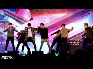 [직캠] 28.10.16 인천대교 희망 콘서트 - B.A.P ( Young, Wild And Free )