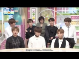 [RUS SUB][17.06.17] BTS на Hanasaki times 1/2 @ CBC TV