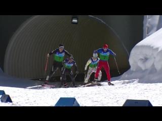 Командный лыжный спринт III зимних Всемирных военных игр в Сочи