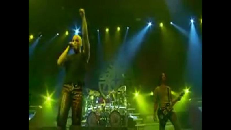 Disturbed Fade to black Metallica cover