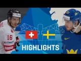 Четвертьфинал ЧМ-2017. Швейцария - Швеция - 1:3