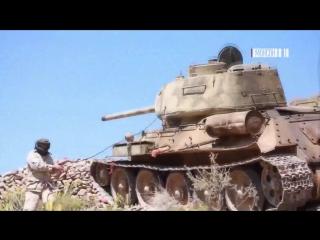 Саудовская коалиция выкатила советский Т-34 на поле боя в Йемене