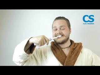 Чистим зубы правильно! Звуковая зубная щетка CS Medica SonicPulsar CS-262