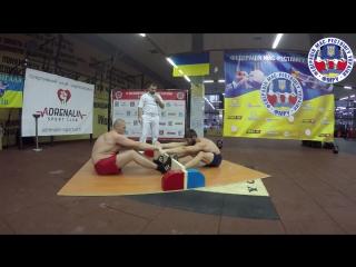 II абсолютный чемпионат Украины по мас-рестлингу 18.12.2016 г. Харьков