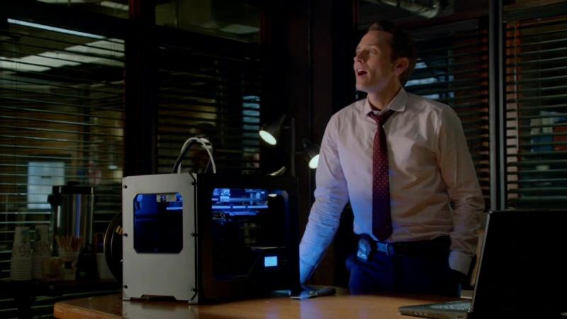 3D принтер MakerBot в известном сериале Касл (англ. Castle)
