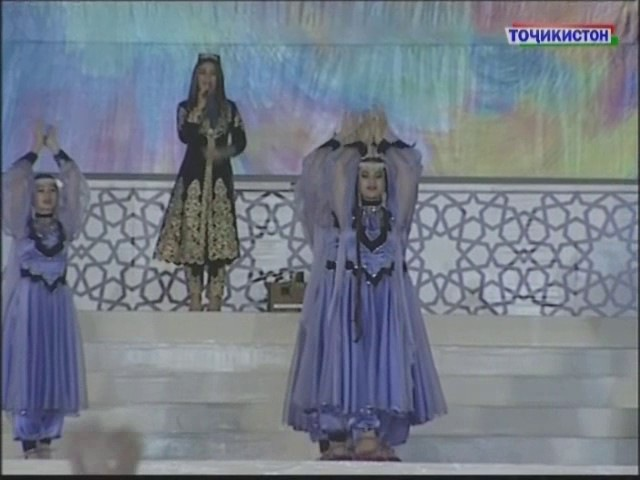 Ghezaal Enayat performing in Tajikistan's Independence Day Гизол иноят