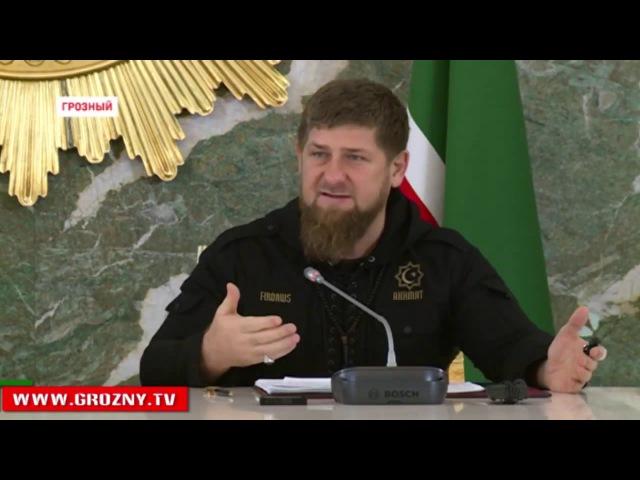 Кадыров Если вы не можете поставить нормально работу заберите ваш свет и газ