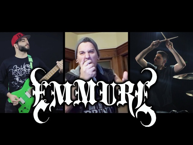 EMMURE - FLAG OF THE BEAST (Full Cover) Feat. Austin Dickey Christopher Ghazel