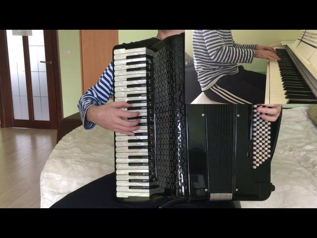 Danganronpa - Beautiful Days | Accordion Piano Cover