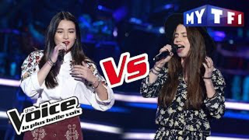 Claire Gautier VS Lou Mai - « Lost On You » (LP) | The Voice France 2017 | Battle