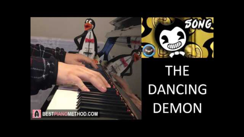 BENDY AND THE INK MACHINE SONG - The Dancing Demon - TryHardNinja (Piano Cover by Amosdoll)