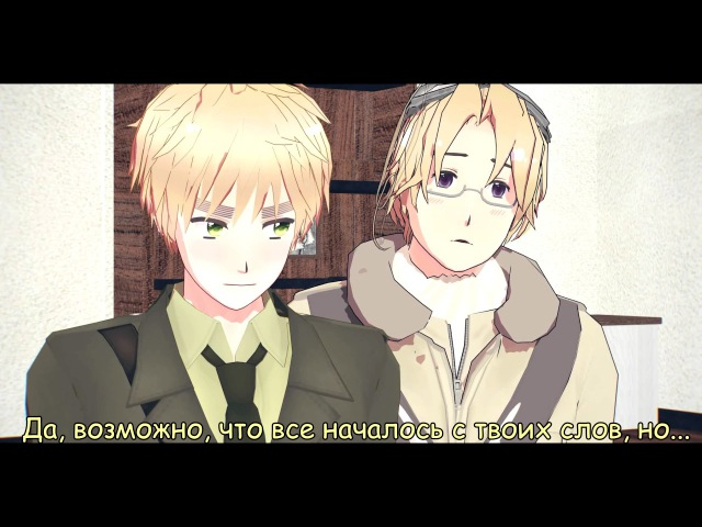 [MMD Hetalia] HetaOni - Episode 8\3 [With SUB English]