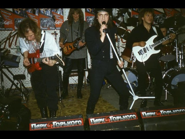 MetalRus.ru (Hard Rock). GORKY PARK - Hit Me With The News (1988) [Demo] [Full Album]