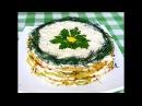 Закусочный торт из кабачков. Очень вкусно, очень сочно!