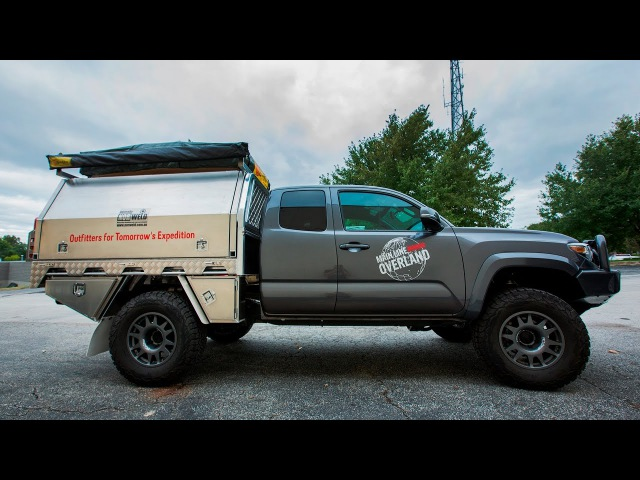 Norweld: Tray Canopy System for Toyota Tacoma Mid-Size Trucks