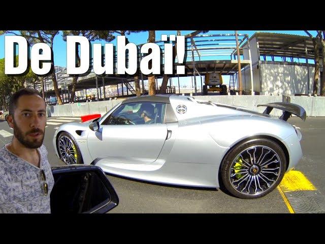 |VLOG] Carspotting d'été à Monaco! Bugatti, Agera, 918...