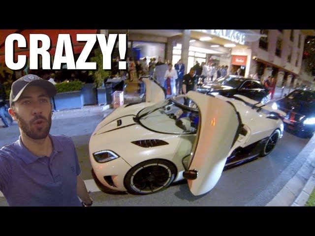 [VLOG] Carspotting FOU: Grand Prix de Monaco (Chiron, Veyron, Agera..) Part. 1