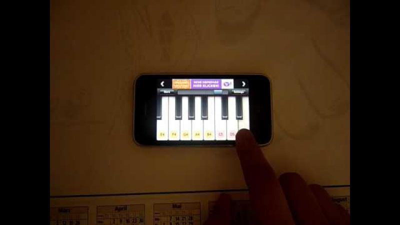 Binbir Gece Dizi Müziği iPhone Piano