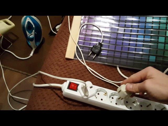 V2. Съём свободной энергии с индукционной плиты, с помощью бифилярной катушки Те ...