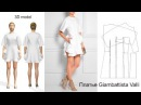 3D modeling dress Giambattista Valli SS-2015/Моделирование платья Джамбаттиста Валли
