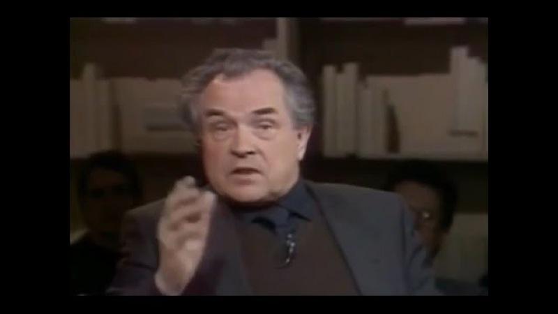 Zinoviev à Iéltsin: O Ocidente te aplaude porque você está destruindo a URSS