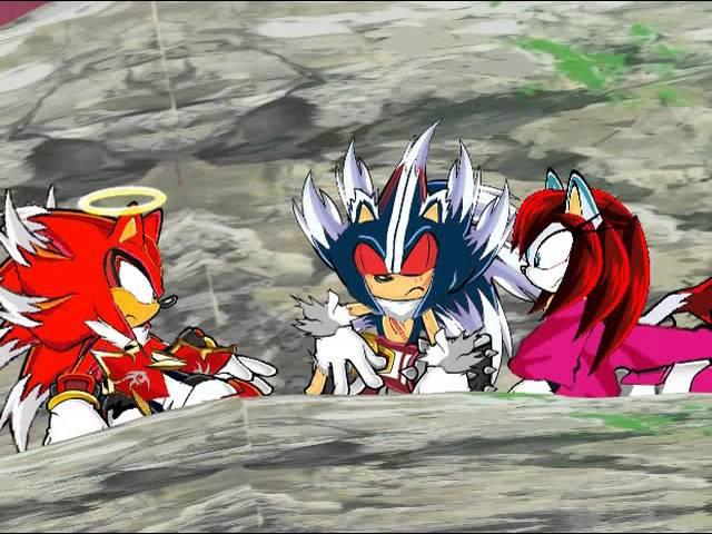 Super Sonic X Universe OVA 2 el legado de los dioses