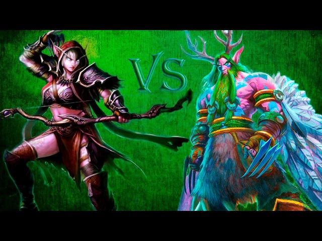 Как играть охотником против джэйд друида! Mid Range Hunter vs Jade Druid!