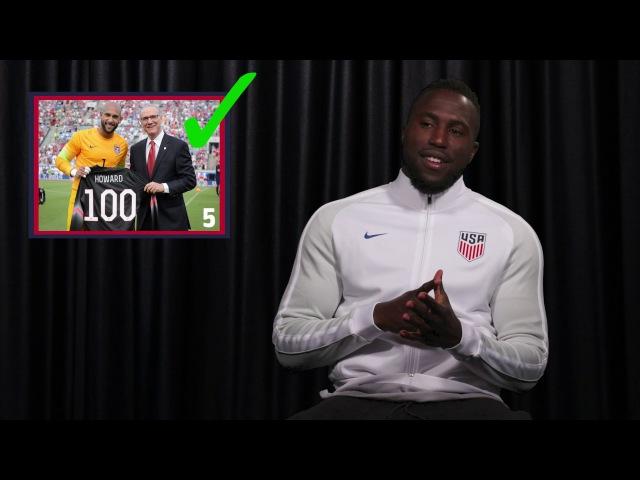 Jozy Altidore Names U.S. MNT 100 Cap Club