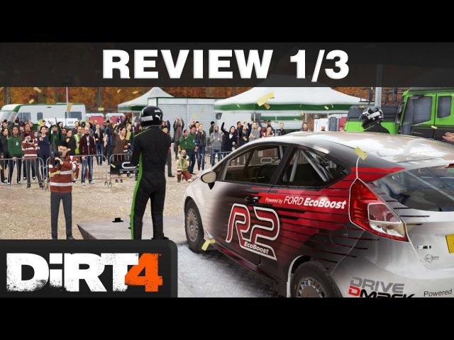 DiRT 4 Review Part 1/3 | Your Stage - Fluch oder Segen? | PS4 T300 deutsch / german
