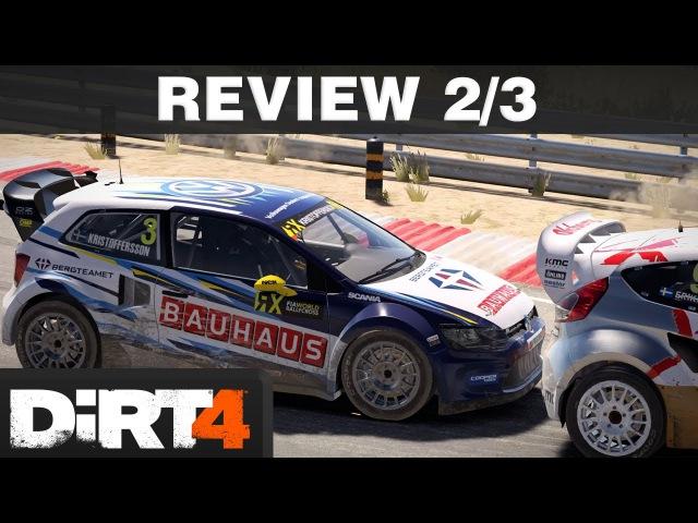 DiRT 4 Review Part 2/3 | Karriere-Überblick Rallycross | PS4 T300 deutsch / german