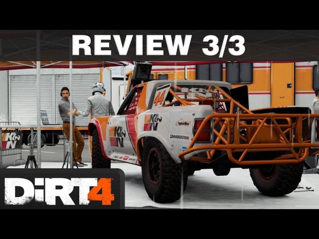 DiRT 4 Review Part 3/3 | Gamer Mode, Landrush, Fazit | PS4 T300 deutsch / german