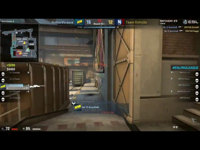 2K from GuardiaN closes out series vs TeamEnVyUs, GG WP! CSGO ESLProLeague