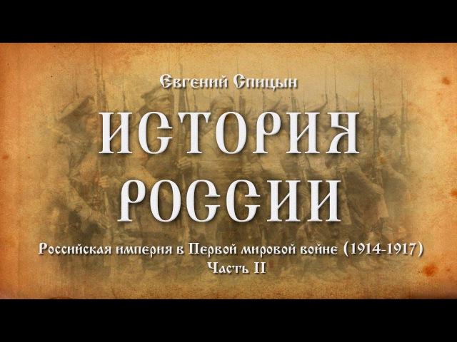 Евгений Спицын. История России. №68.Российская империя в Первой мировой войне (191...