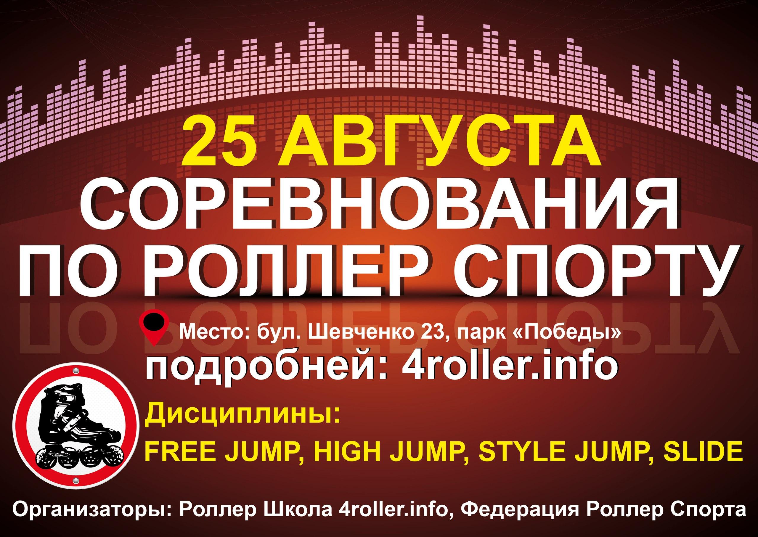 Соревнования по роллер спорту 25.08.2017