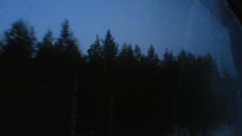 2015.04.02. 05-41 Поезд 337Е . Екатеринбург - Приобье